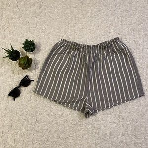 Striped Beachy Shorts